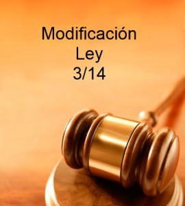 Modificación ley 3 14 XenonFactory