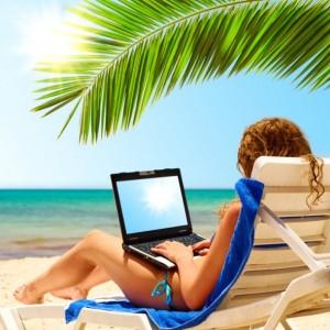 Compras online en verano